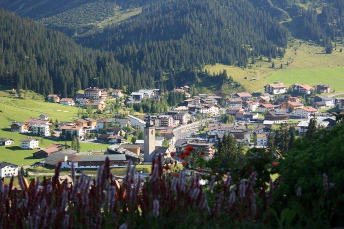 Lech Bild Dorf