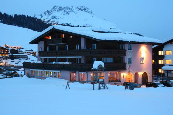 Hotel Lärchenhof mit Karhorn