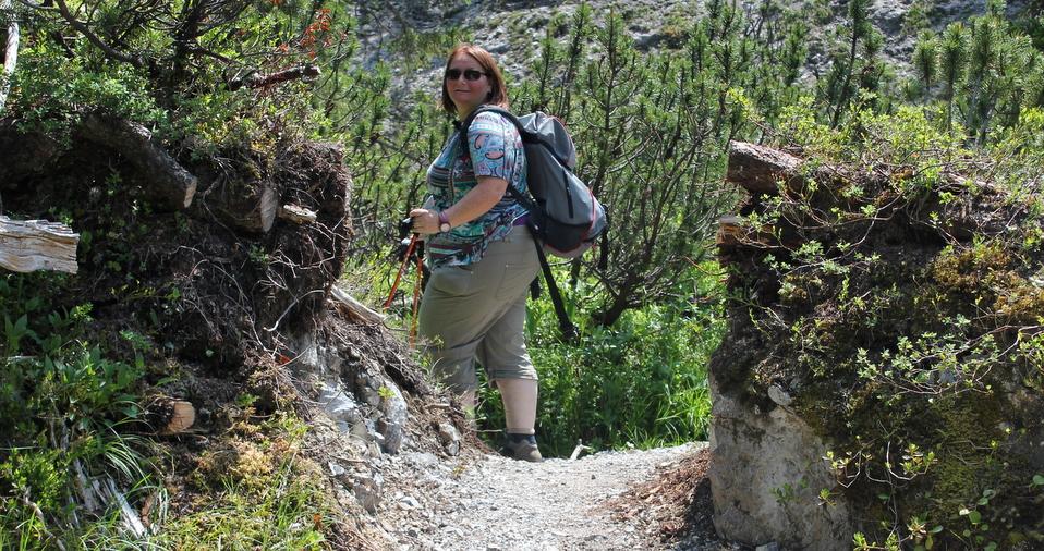 Lechweg Wandern mit Andrea