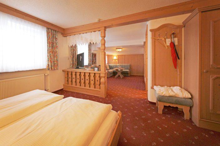 Zimmer im Hotel Garni
