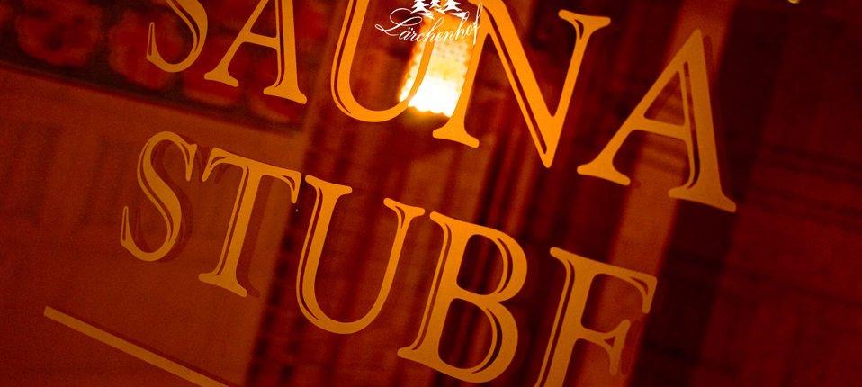 Sauna Stube