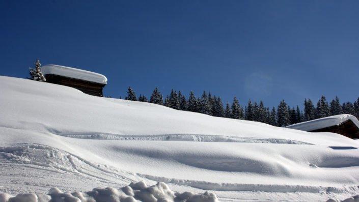 Schnee in Fülle - Lech