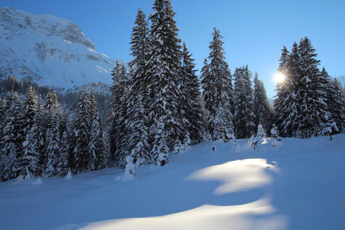 Lech Zürs Winterstimmung