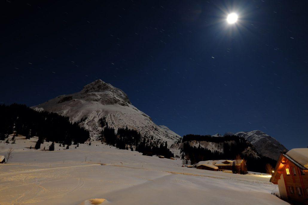 Mondschein in Lech